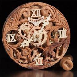 деревянные часы Даневич