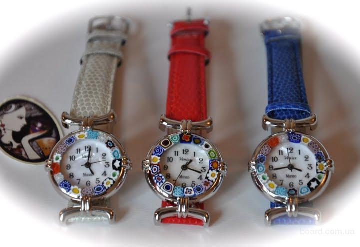 Наручные часы муранское стекло марки часы женские наручные