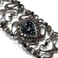 Модные женские наручные часы сердце
