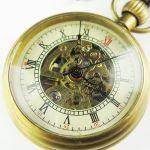 АКЦИЯ! Механические карманные часы скелетоны