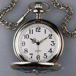 Карманные часы на цепочке с крестом