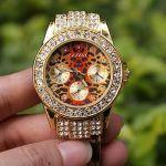 Женские леопардовые часы
