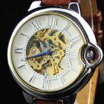 Часы скелетоны классические с автоподзаводом