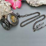 Римские карманные часы скелетоны