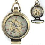 Карманные часы с увеличительным стеклом