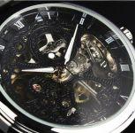 Мужские механические часы скелетоны