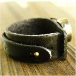 АКЦИЯ! Необычный кожаный браслет часы