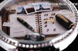 Унисекс часы с миниатюрами