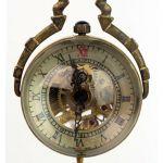 Кулон часы на цепочке Сфера скелетон
