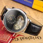 Часы Turbillon Black в стиле швейцарских брендов