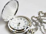 Классические карманные часы на цепочке кварцевые