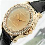 Женские кварцевые часы Gold Diamond