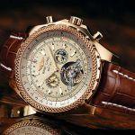 Механические часы копия Breitling for Bentley Motors Gold