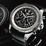 Точная копия часов Breitling for Bentley Black