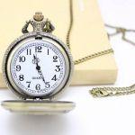 АКЦИЯ! Кварцевые карманные часы с цепочкой Switzerland
