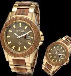 Деревянные наручные часы BEWELL мужские