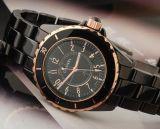 Копия керамических часов Chanel J12 Black