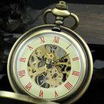 Карманные часы стимпанк на цепочке