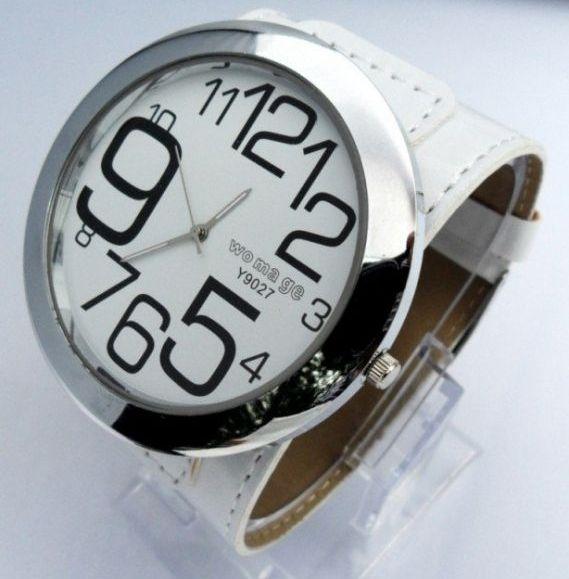 Наручные часы с большим циферблатом 62