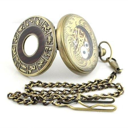 ретро часы со знаком задиака