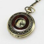Карманные часы унисекс античная бронза