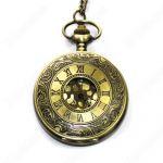 Римские кварцевые карманные часы кулон