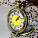 Оригинальные карманные часы с лупой!