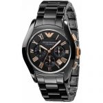 Керамические часы копия Armani Ceramic Chronograph